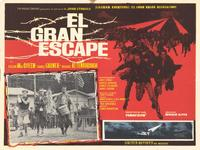 The Great Escape - 11 x 14 Poster Spanish Style A