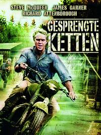 The Great Escape - 11 x 17 Movie Poster - German Style A