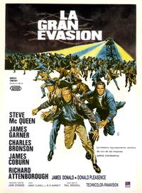 The Great Escape - 11 x 17 Movie Poster - Spanish Style A