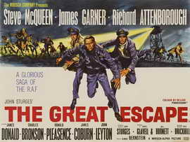 The Great Escape - 30 x 40 Movie Poster UK - Style A