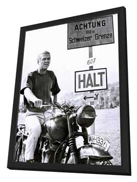 The Great Escape - 11 x 17 Movie Poster - Style B - in Deluxe Wood Frame