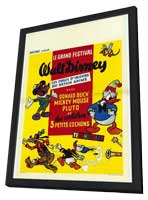 Great Festival - 11 x 17 Movie Poster - Belgian Style A - in Deluxe Wood Frame