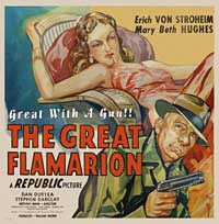 Great Flamarion - 11 x 14 Movie Poster - Style G