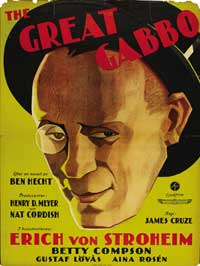 The Great Gabbo - 11 x 17 Movie Poster - Swedish Style A