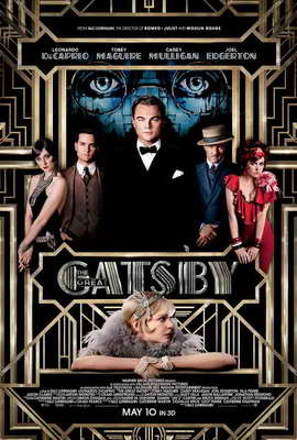 The Great Gatsby 3D - 27 x 40 Movie Poster - Style A
