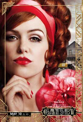 The Great Gatsby 3D - 11 x 17 Movie Poster - Style G
