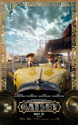 The Great Gatsby 3D - 11 x 17 Movie Poster - Style C