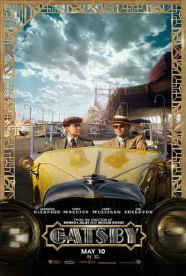 The Great Gatsby 3D - 27 x 40 Movie Poster - Style C