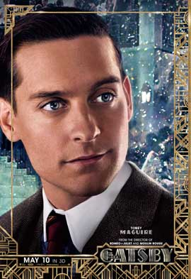 The Great Gatsby 3D - 11 x 17 Movie Poster - Style I