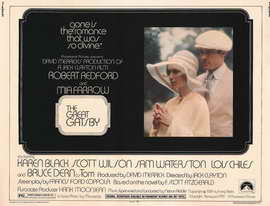 Great Gatsby, The - 11 x 14 Movie Poster - Style A