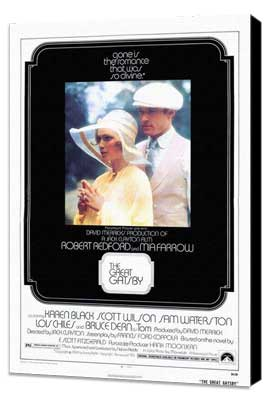 Great Gatsby, The - 27 x 40 Movie Poster - Style A - Museum Wrapped Canvas