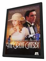 The Great Gatsby - 11 x 17 Movie Poster - Style A - in Deluxe Wood Frame