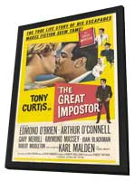 Great Impostor - 11 x 17 Movie Poster - Style A - in Deluxe Wood Frame