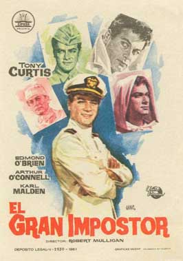 The Great Impostor - 11 x 17 Movie Poster - Spanish Style A