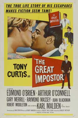 The Great Impostor - 11 x 17 Movie Poster - Style B