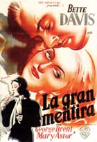 The Great Lie - 11 x 17 Movie Poster - Spanish Style B