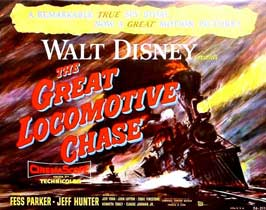 The Great Locomotive Chase - 11 x 14 Movie Poster - Style A