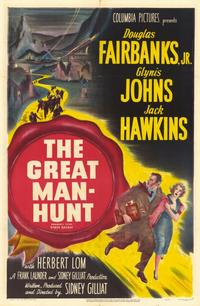 The Great Manhunt - 11 x 17 Movie Poster - Style B