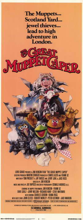 The Great Muppet Caper - 11 x 17 Movie Poster - Style B