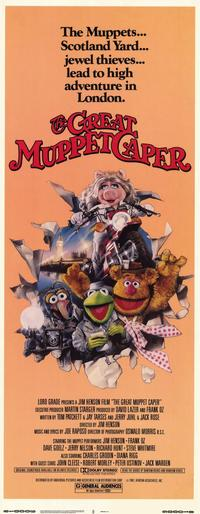 The Great Muppet Caper - 14 x 36 Movie Poster - Insert Style A