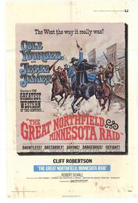 The Great Northfield Minnesota Raid - 11 x 17 Movie Poster - Style A