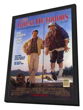 The Great Outdoors - 27 x 40 Movie Poster - Style A - in Deluxe Wood Frame