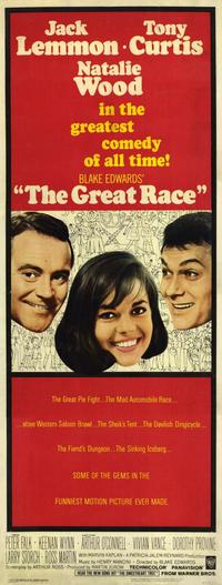 The Great Race - 14 x 36 Movie Poster - Insert Style A