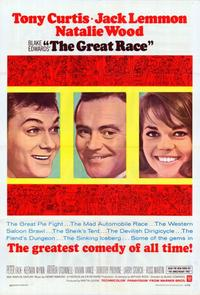 The Great Race - 11 x 17 Movie Poster - Style B