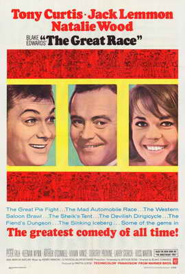 The Great Race - 27 x 40 Movie Poster - Style B