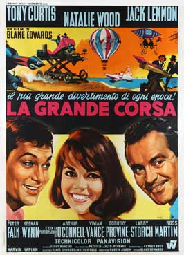 The Great Race - 11 x 17 Movie Poster - Italian Style A