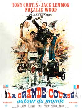 The Great Race - 27 x 40 Movie Poster - French Style A