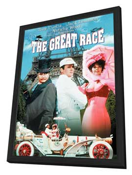The Great Race - 11 x 17 Movie Poster - Style C - in Deluxe Wood Frame