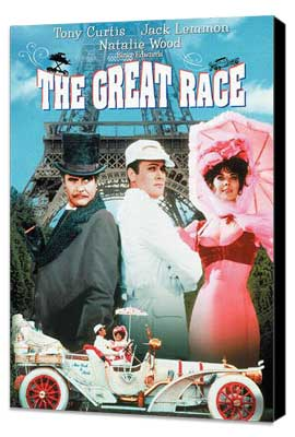 The Great Race - 11 x 17 Movie Poster - Style C - Museum Wrapped Canvas