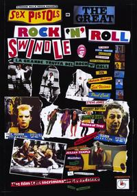 The Great Rock 'N' Roll Swindle - 11 x 17 Movie Poster - Italian Style A