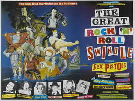 The Great Rock 'N' Roll Swindle - 30 x 40 Movie Poster UK - Style A