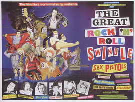 The Great Rock 'N' Roll Swindle - 27 x 40 Movie Poster - Style B