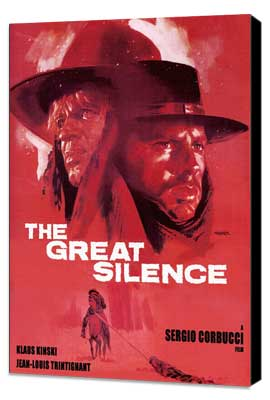 Great Silence, The - 11 x 17 Movie Poster - Style A - Museum Wrapped Canvas