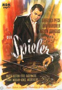 The Great Sinner - 11 x 17 Movie Poster - German Style A