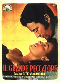 The Great Sinner - 11 x 17 Movie Poster - Italian Style A