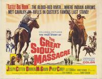 The Great Sioux Massacre - 22 x 28 Movie Poster - Half Sheet Style A