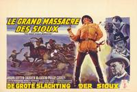 The Great Sioux Massacre - 11 x 17 Movie Poster - Belgian Style A