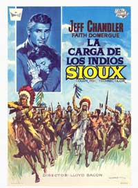 The Great Sioux Uprising - 11 x 17 Movie Poster - Spanish Style A