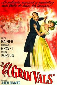 Great Waltz, The - 11 x 17 Movie Poster - Spanish Style A
