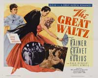Great Waltz, The - 30 x 40 Movie Poster - Style A