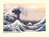 The Great Wave at Kanagawa - Art Poster - 24 x 32 - Style A