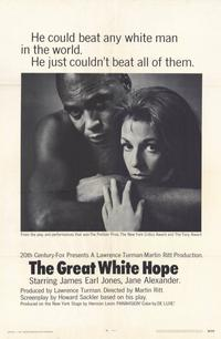 The Great White Hope - 11 x 17 Movie Poster - Style A