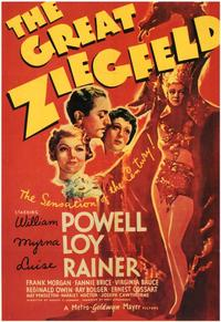 The Great Ziegfeld - 43 x 62 Movie Poster - Bus Shelter Style A
