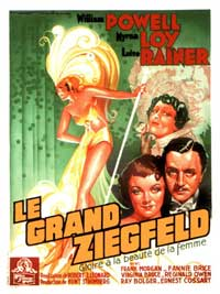 The Great Ziegfeld - 11 x 17 Movie Poster - French Style A