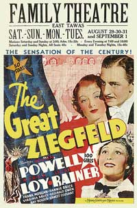 The Great Ziegfeld - 11 x 17 Movie Poster - Style F