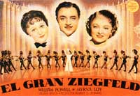 The Great Ziegfeld - 11 x 17 Movie Poster - Spanish Style B
